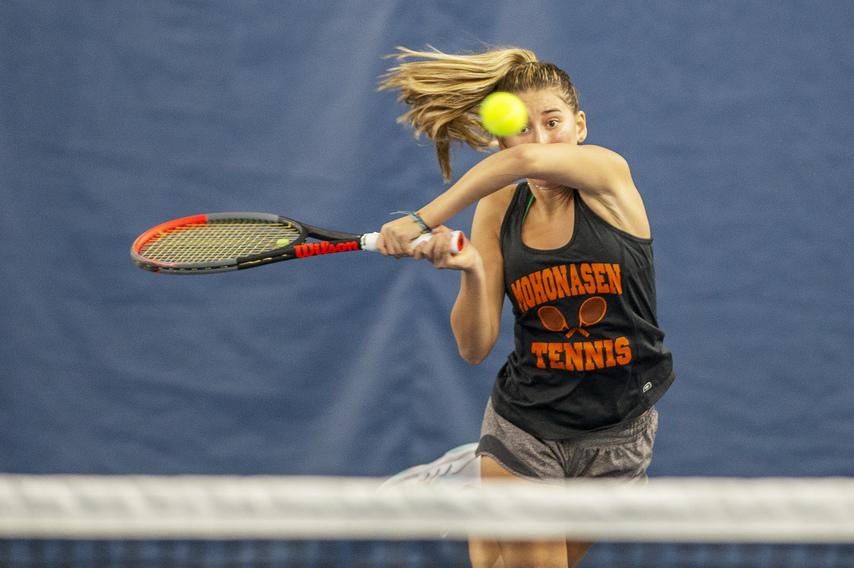 Mohonasen senior Cuomo wins fourth Section II tennis title