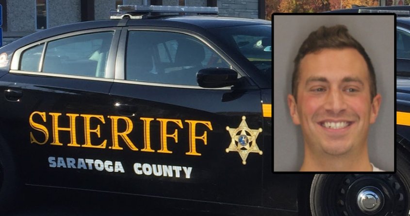 The Daily GazetteSaratoga Sheriff: Middle Grove man hit woman with gun, burglarized home; Found hiding in residence closet