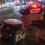 Schenectady resident injured in crash Thursday night, city clock damaged