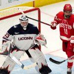 Former Union goalie Hanson finds his spot at UConn