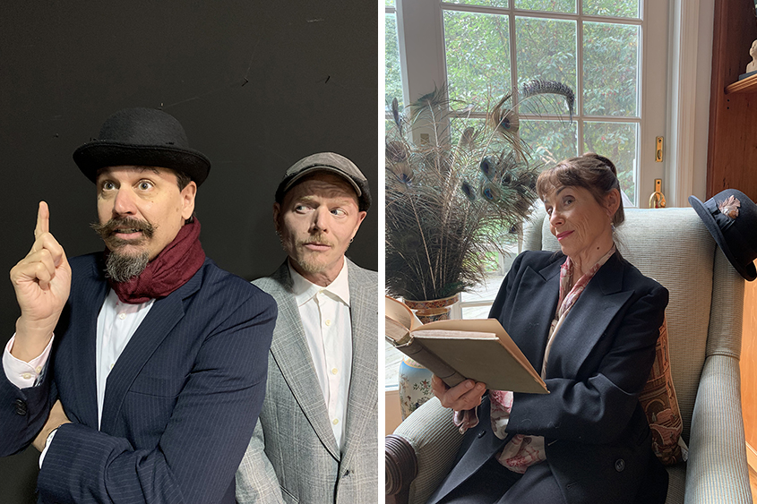 In iTheatre Saratoga production, 3 Poirots will be on the case