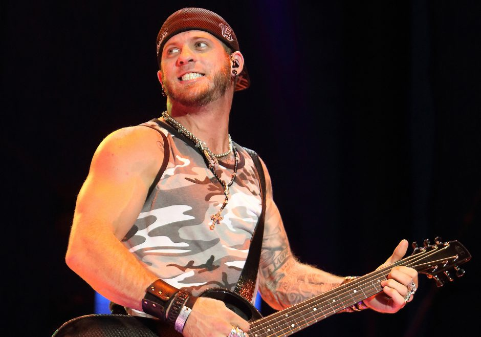 Brantley Gilbert performs last summer at the Delaware State Fair.