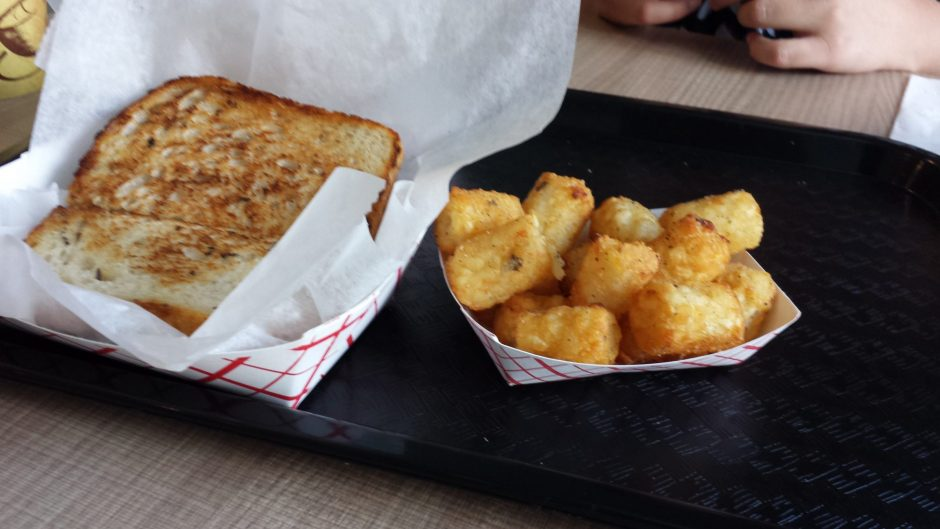 Grilled cheese is the specialty of the house at Capito Melts in Albany. (CAROLINE LEE PHOTO)