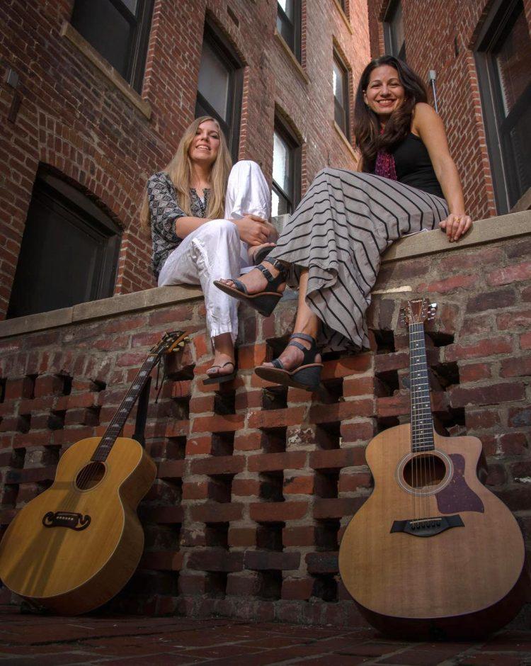 Kipyn Martin, left, and Allison Shapira bring their Joan & Joni show to Caffe Lena in Saratoga Springs on Friday, Sept. 18.