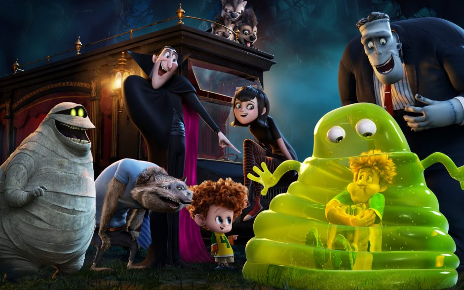 """A scene from """"Hotel Transylvania 2."""" (Sony Pictures Animation/The Associated Press)"""