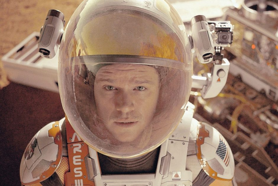 Matt Damon is Mark Watney in 'The Martian.' (20th Century Fox/The Associated Press)
