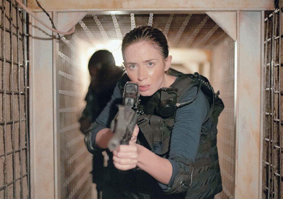 Emily Blunt as FBI agent Kate Macer in 'Sicario.' (Richard Foreman Jr./Lionsgate)