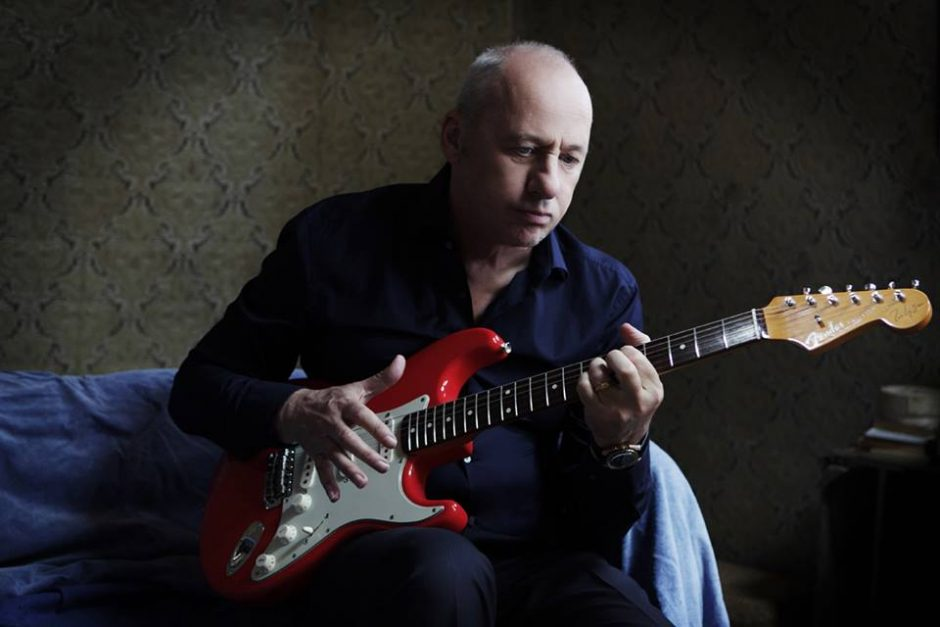 Mark Knopfler leads his solo band on Sunday at the Palace Theatre in Albany.