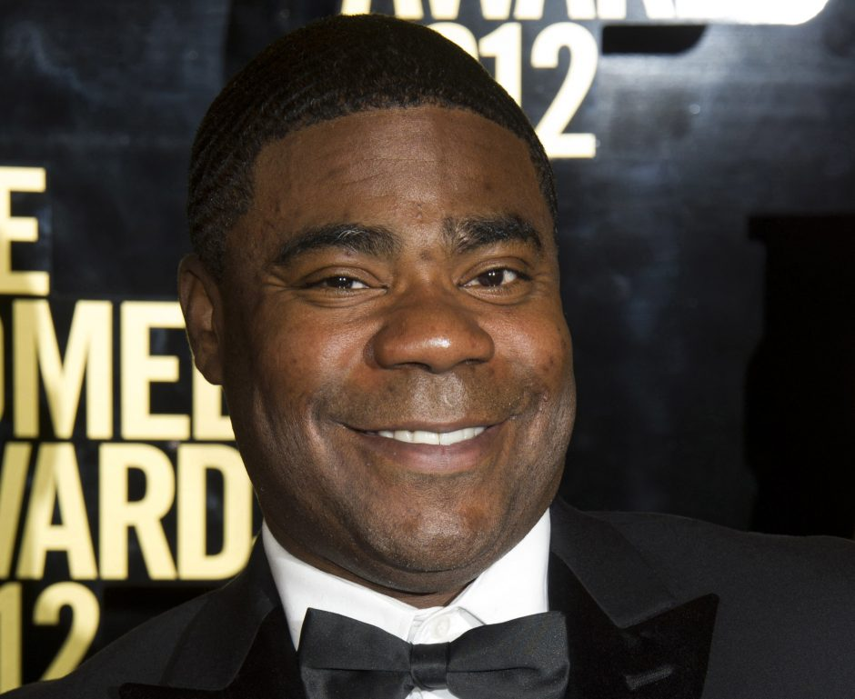In this April 28, 2012 photo, Tracy Morgan attends The Comedy Awards in New York. Morgan is suing Wal-Mart over the June 7, 2014, highway crash that seriously injured him and killed a fellow comedian. The lawsuit, filed Thursday, July 10, 2014, in U.S....