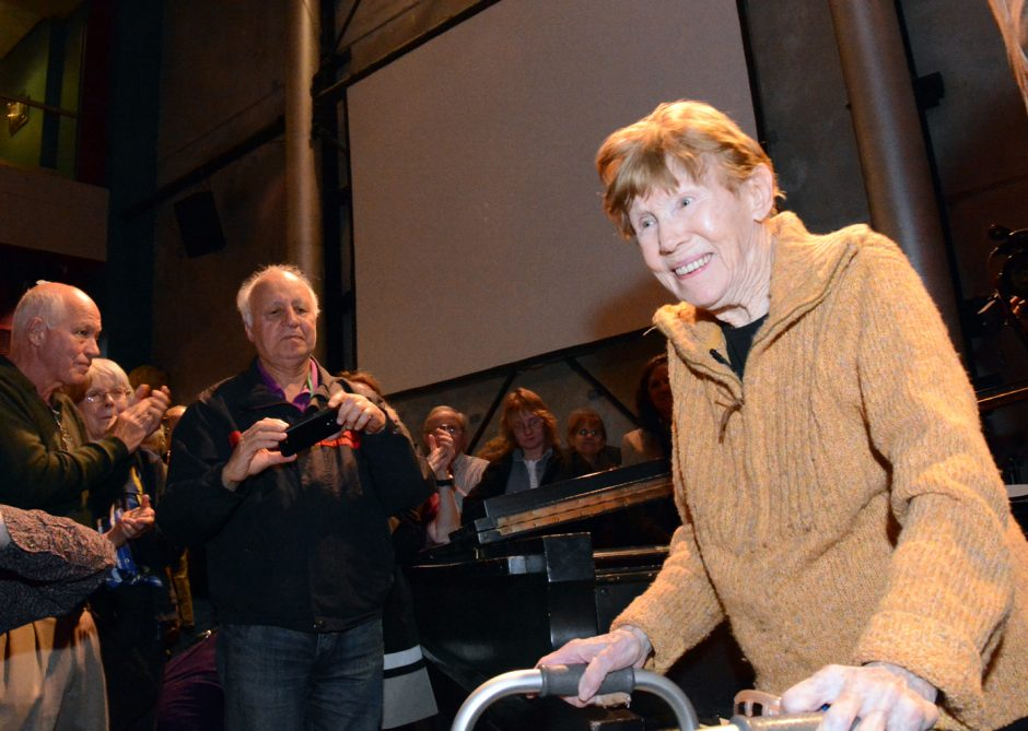 Jazz pianist Lee Shaw received the Jazz Hero award in April during a concert at Proctors put on by the Schenectady-Amsterdam Musical Union. The award, given by the Jazz Journalists Association, honored Shaw for her support of jazz and education, passio...