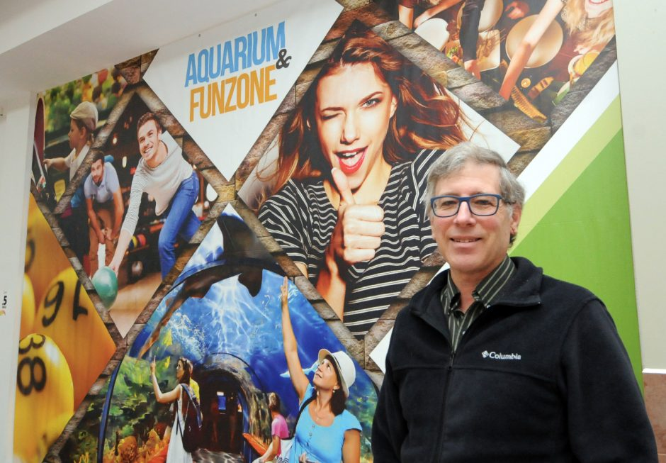 David Gross is the new operating general manager for the aquarium project under construction at the Rotterdam Square Mall.