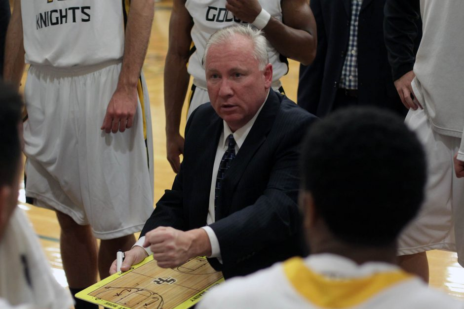 College of Saint Rose basketball coach Brian Beaury is back on the bench after missing the 2014-15 season after having neck surgery.