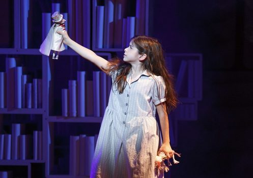 """Gabby Pizzolo performs in """"Matilda the Musical."""""""