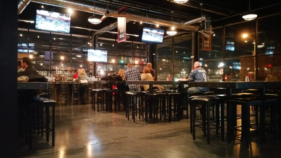 The interior of Firestone 151 Bar & Restaurant is shown. (Beverly Elander)