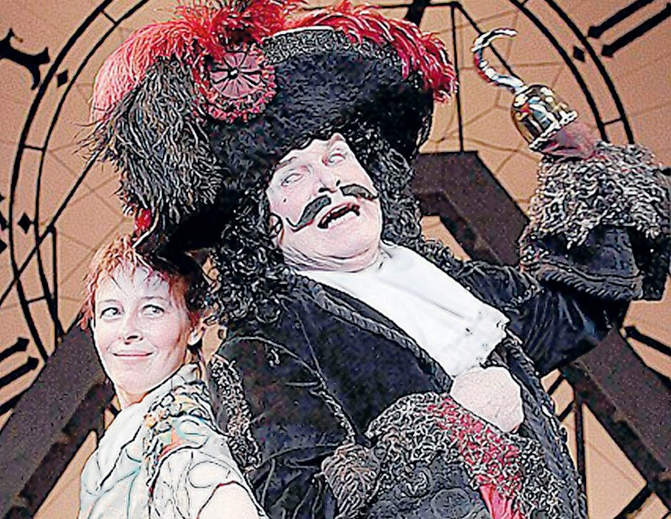 Kathleen Carey remembers playing Peter Pan with Dick Harte as Captain Hook in Schenectady Civic Players' production of 'Peter Pan.' (Tom Killips)
