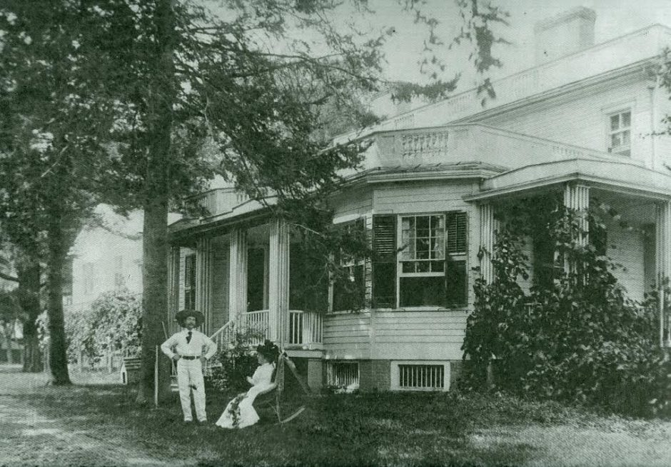Photo from town historian Rick Reynolds, circa 1900. Unidentified members of the Baker family.