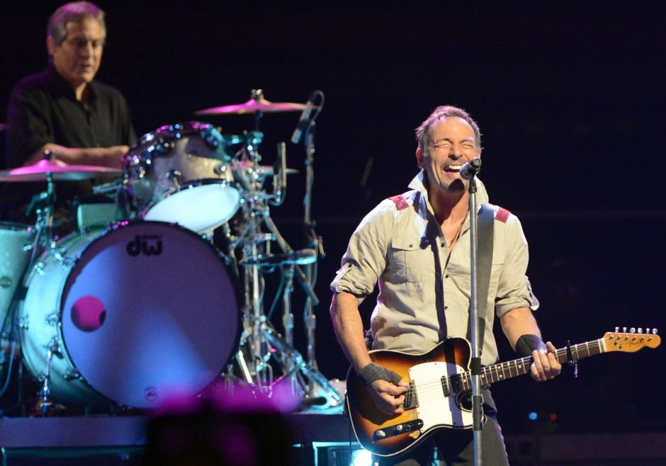 Bruce Springsteen performs at the Times Union Center in May 2014. The Boss is back at the Albany arena with a Feb. 8 concert.