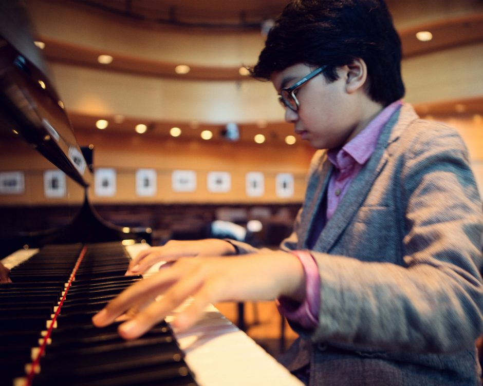 Young Joey Alexander will appear with his trio at the Woodstock Community Center on Jan. 30. (Provided photo)