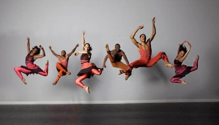 """Garth Fagan Dance's """"Woza"""" (Photo by Greg Barrett)"""
