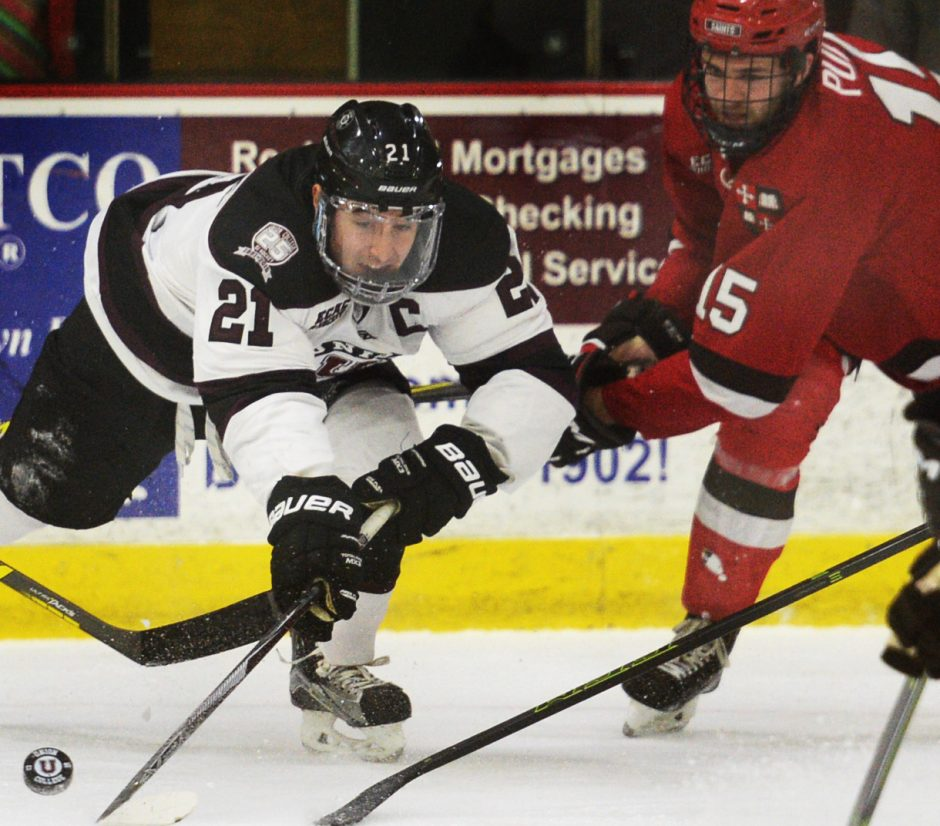 In the near future, Union College junior Mike Vecchione will have to decide if he wants to return to college next season, or begin a pro career.