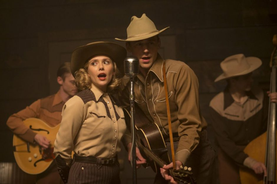 Elizabeth Olsen and Tom Hiddleston in 'I Saw the Light.' (Sony Pictures Classics)