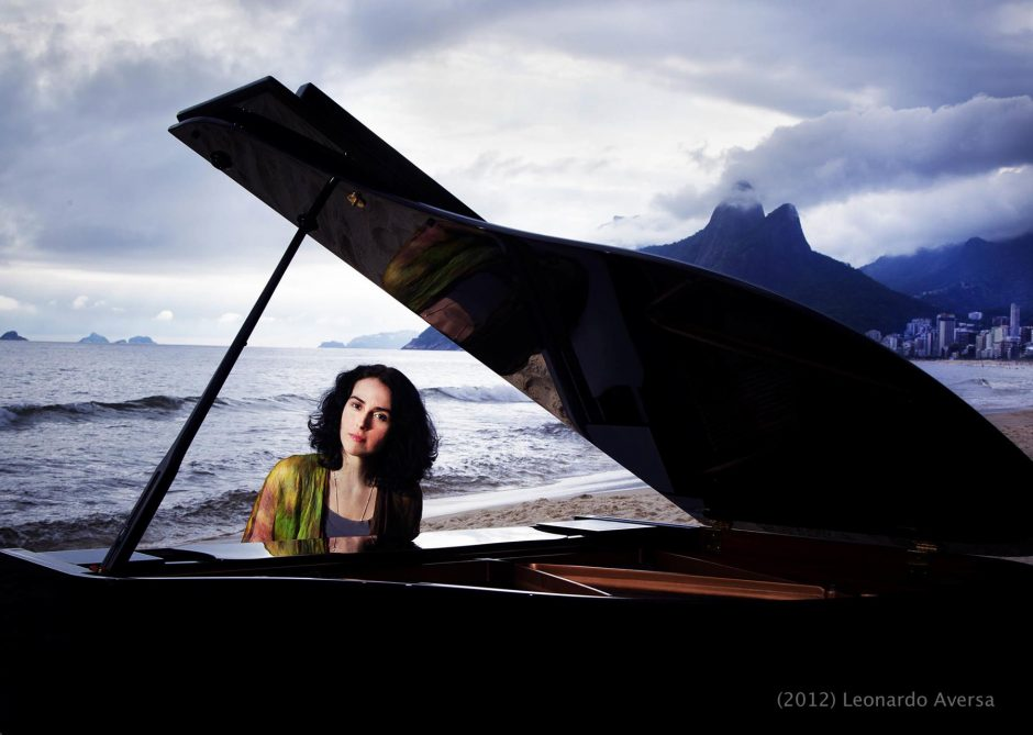 Clarice Assad will bring her Off the Cliff group to EMPAC in Troy on Friday.
