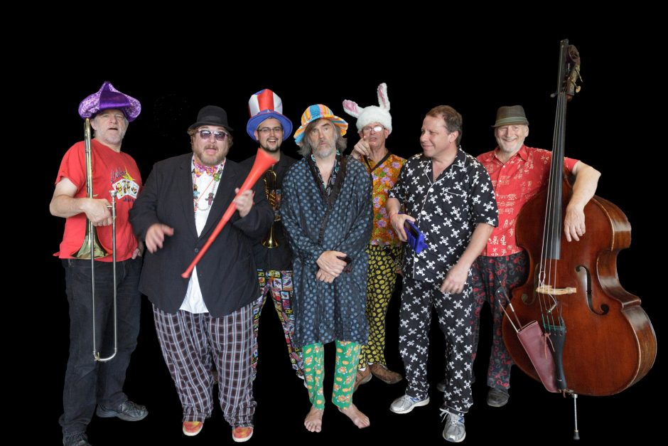 Members of the Chandler Travis Philharmonic, Bob Pilkington, Cliff Spencer, Matt Joseph, Chandler Travis, Fred Boak, Berke McKelvey and John Clark, will play The Hangar in Troy on Friday.