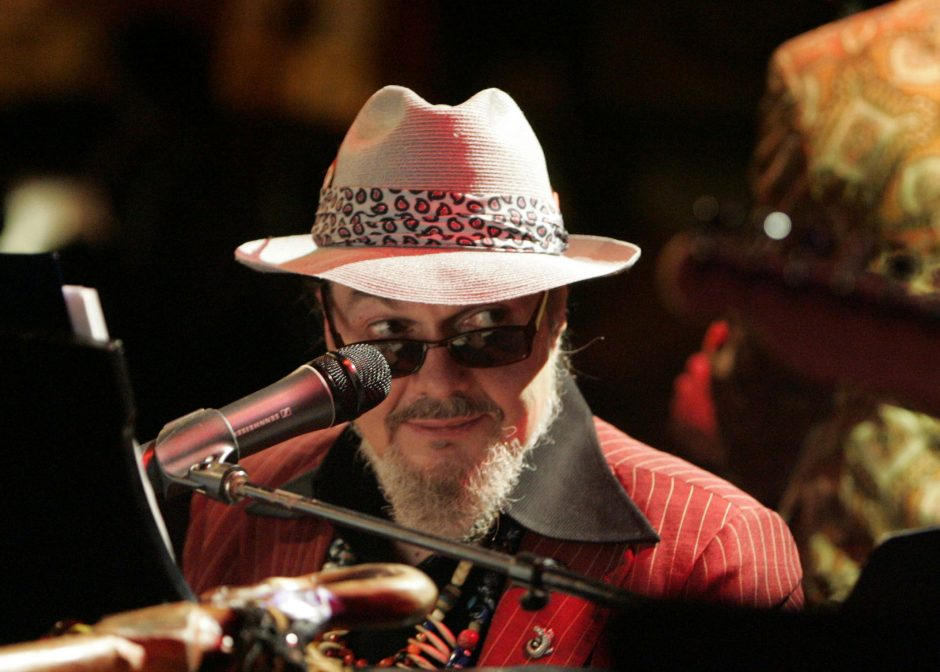 Dr. John & the Night Trippers will perform today at Alive at Five in Albany's free Thursday evening concert series. (New York Times photo)