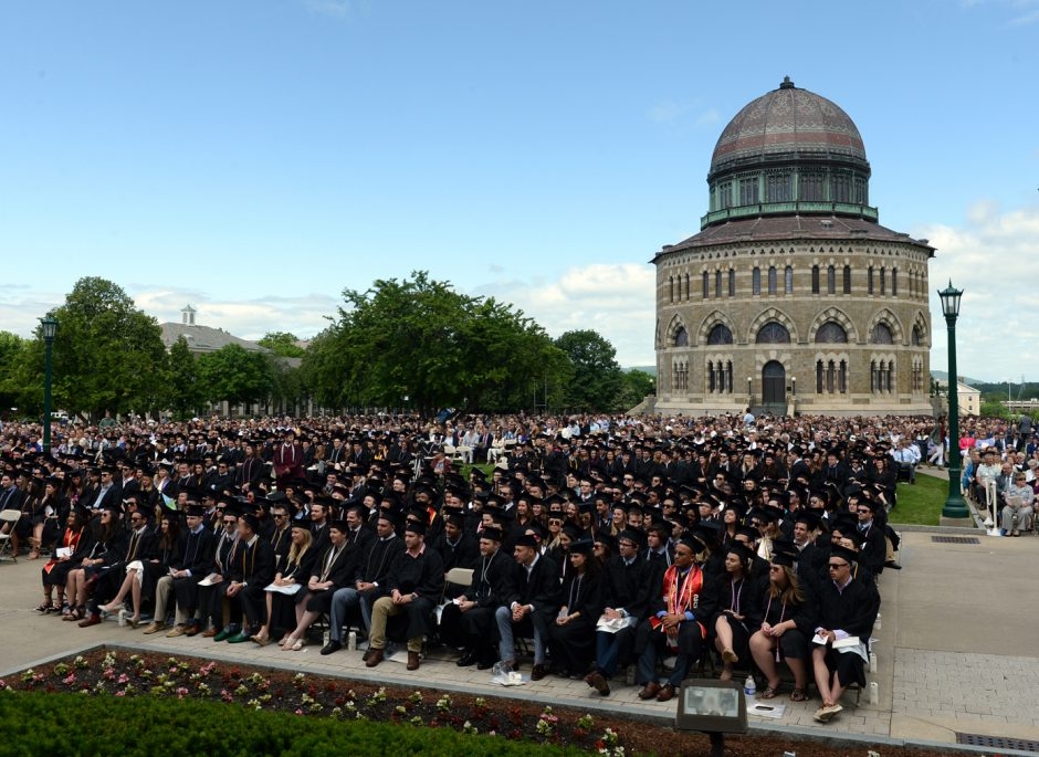 The 222nd commencement exercises were held at Union College on Sunday June 12, 2016.