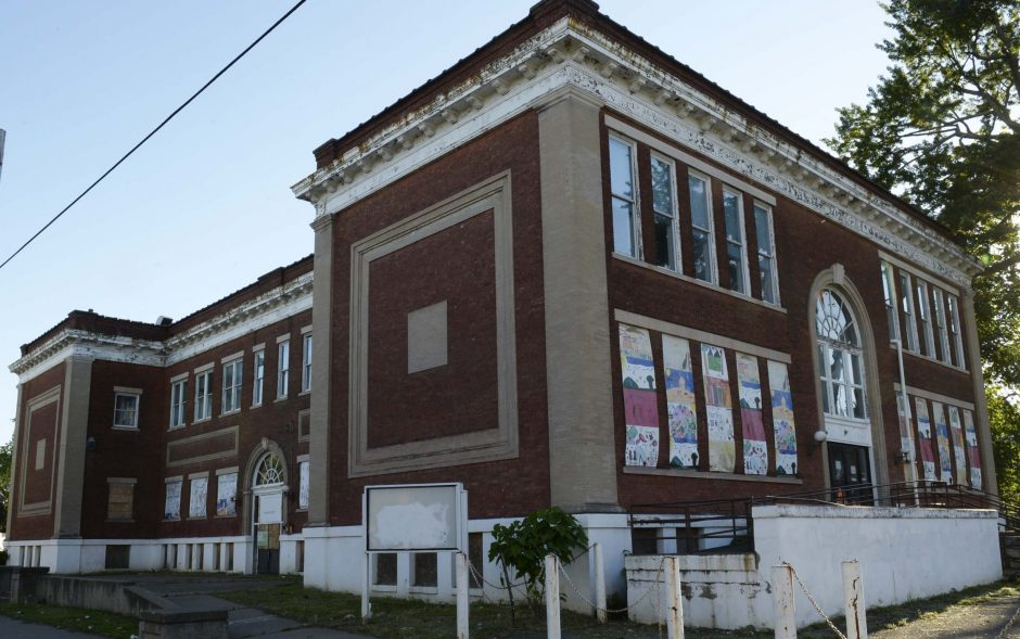 The former Horace Mann School at 602 Craig St. in Schenectady is pictured on Tuesday, June 14, 2016.