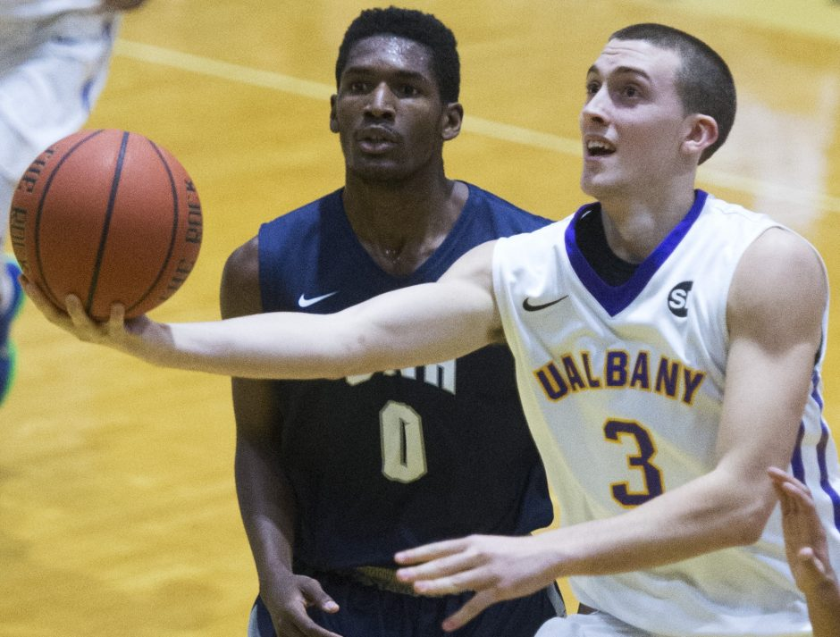 The decision by Scotia's Joe Cremo to stay close to home paid off: After last season the University at Albany swingman was named America East's Sixth Man and Rookie of the Year.