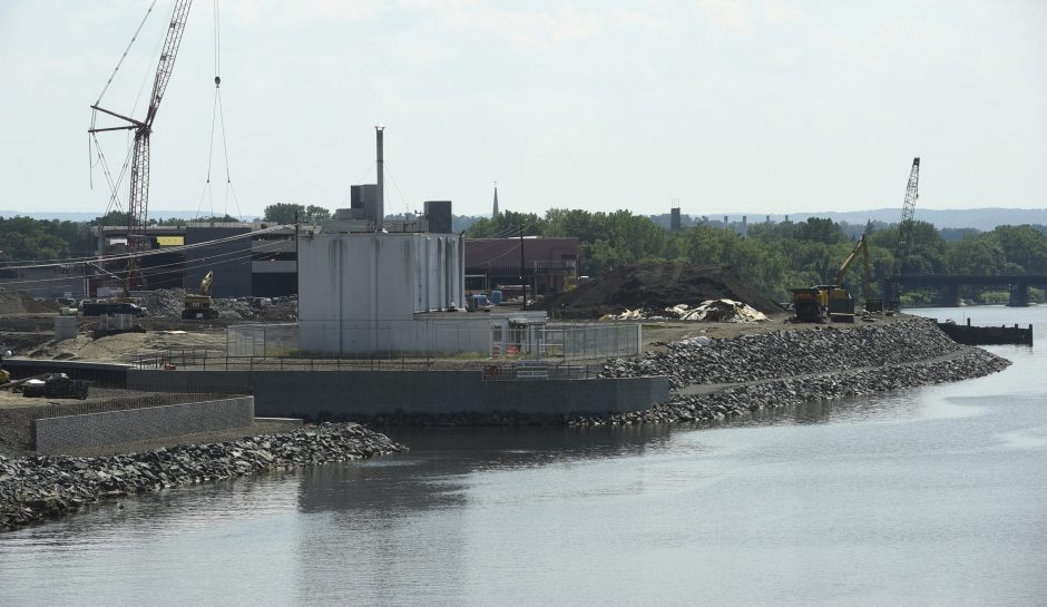 The Mohawk Harbor project as seen from Freemans Bridge Road Wednesday, July 6, 2016.