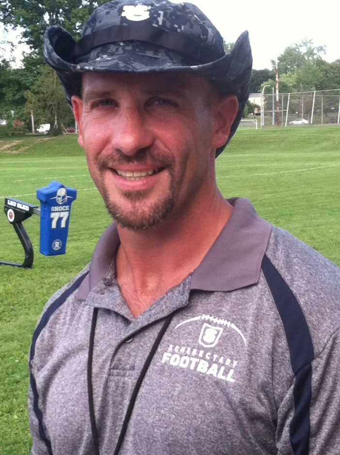 Schenectady coach Mark Cerrone is looking to lead the Patriots to a bounce-back season.