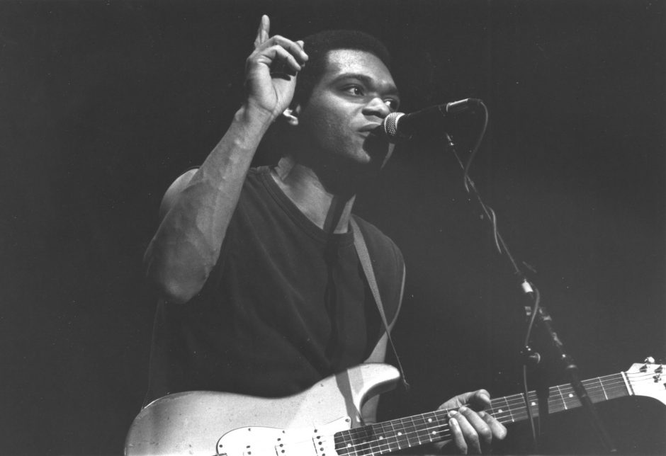 Robert Cray opened for Los Lobos at Albany's Palace Theater in April 1987.