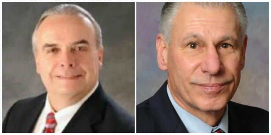 Steve Bulger, left, and Paul Pelagalli