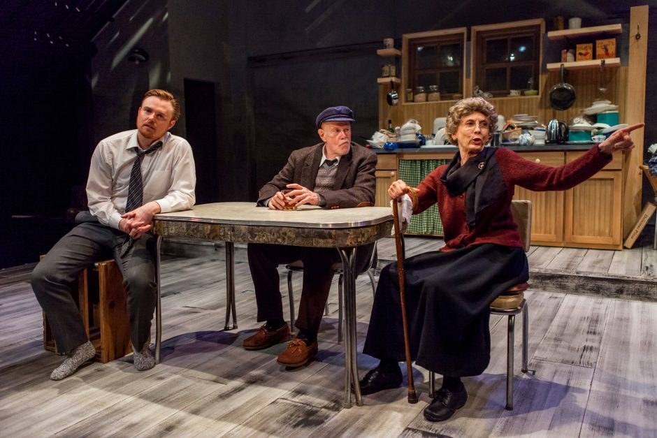 David Kenner, Kenneth Kimmins and Laurie O'Brien star  in 'Outside Mullingar,' opening this weekend at Cap Rep.