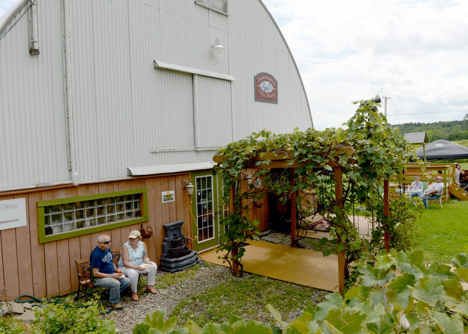 The Hummingbird Hills Winery, located on Burtonsville Road in Fultonville on August 21.
