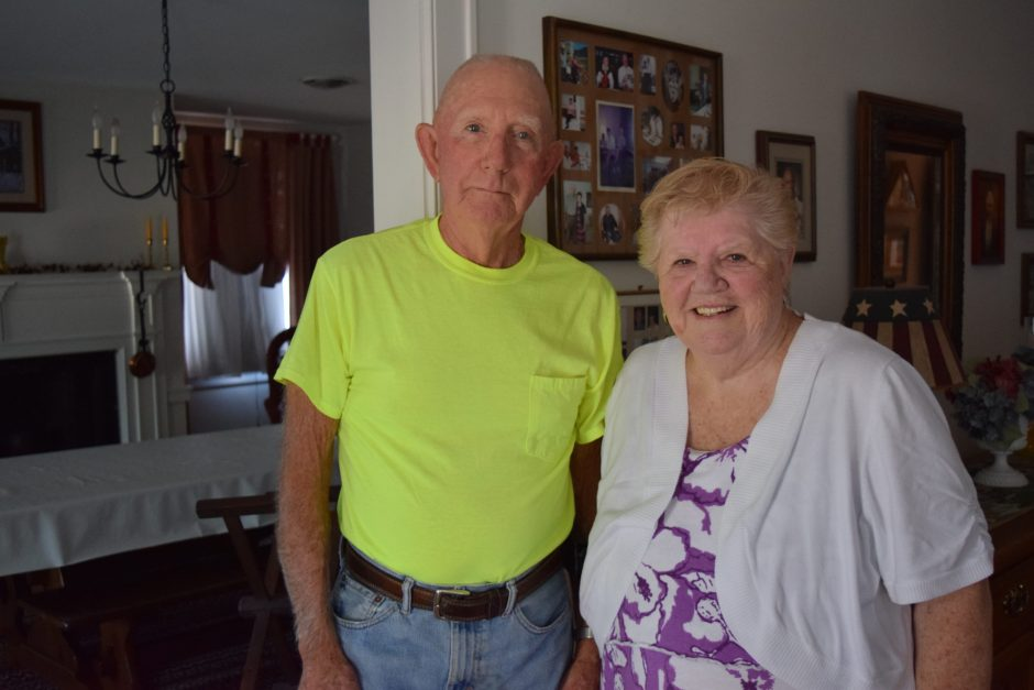Jean Marie Eells and her brother Charles Eells both served in the U.S. Air Force and will both be on board the Patriot Flight leaving Albany Saturday for Washington, D.C.
