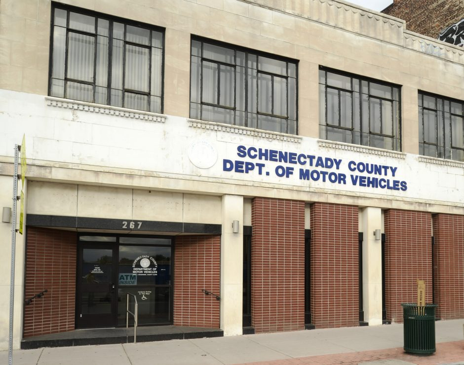 The Department of Motor Vehicles at 267 State St. in Schenectady, seen here Tuesday, will be moving to the former IHOP on upper State Street..