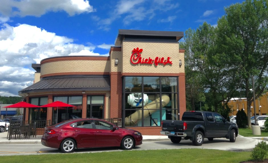 A Chick-Fil-A in Wallingford, Ct.