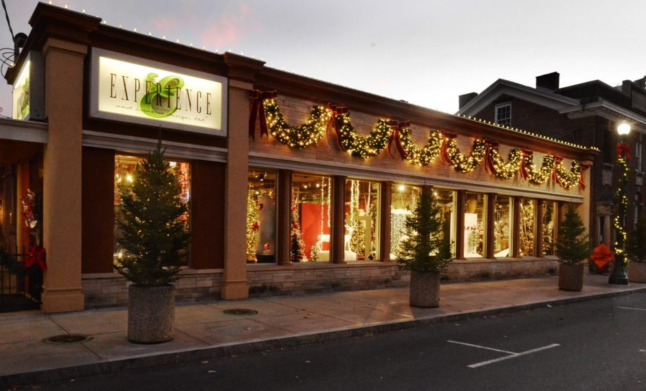 Experience & Creative Design Ltd. got an early start on decorating for the coming Christmas season on Union Street on Thursday.