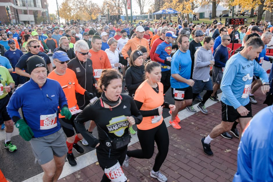 Approximately 1,500 runners took part in the 41st Stockade-athon, a 15k road race through the heart of Schenectady on Sunday.