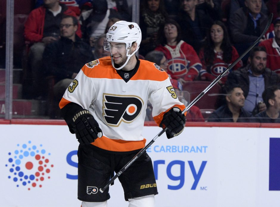 Philadelphia Flyers defenseman and former Union College standout Shayne Gostisbehere was named the top pro athlete in Philadelphia on Thursday, the same day he was a healthy scratch against the Winnipeg Jets.