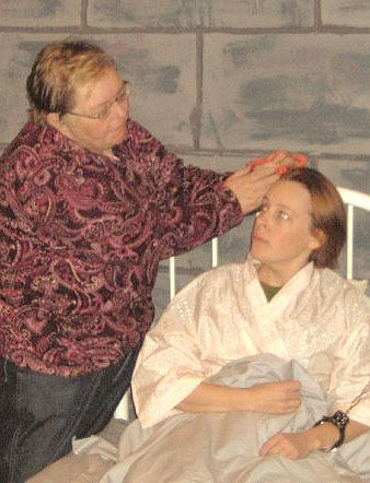 Kate Hans, left, is Du and Kathleen Carey is Keely in the ACT production.