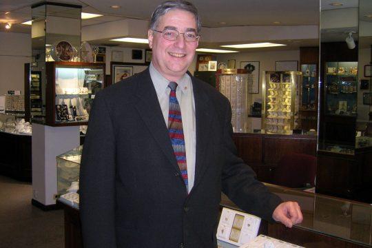 Louis Castiglione, owner of Castiglione Jewelers