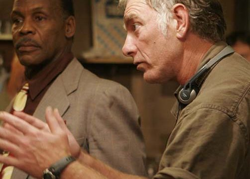 "John Sayles motions during the making of the film ""Honeydripper."""