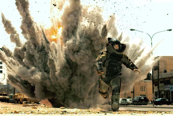 """Jeremy Renner is shown in a scene from """"The Hurt Locker."""""""