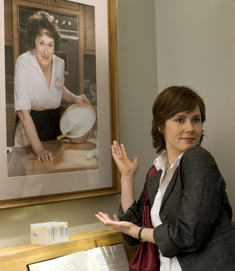 """Amy Adams, right, and Meryl Streep star in """"Julie & Julia, based on memoirs written by Julie Powell and Julia Child."""