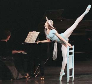 """Jerome Robbins' """"The Concert"""" will be among works presented at SPAC this summer by the New York City Ballet."""