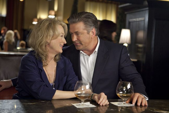 """Meryl Streep and Alec Baldwin star in """"It's Complicated."""""""